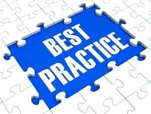Best Practice Puzzle Shows Effective Habit And Successful Training